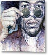 Jimi Hendrix 08 Metal Print