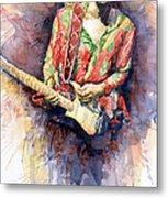 Jimi Hendrix 09 Metal Print