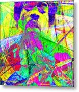 Jimi Hendrix 20130613 Metal Print by Wingsdomain Art and Photography