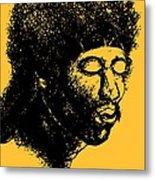 Jimi Hendrix Rock Music Poster Metal Print