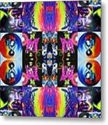 Jimi Kaleidoscope I Metal Print