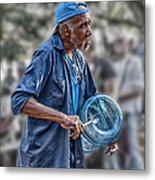 Jj And The Plastic Water Carboy Metal Print