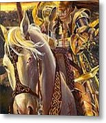 Joan D'arc Metal Print