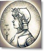 Joan Of Arc - Original Metal Print