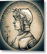 Joan Of Arc - Middle Ages Metal Print