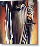 Joan Of Sharc Metal Print