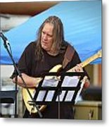 Jocelyn Godfrey Guitarist 1 Metal Print