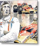 Jochen Rindt Golden Leaf Team Lotus Lotus 49b Lotus 49c Metal Print