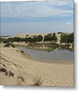 Jockey's Ridge 3 Metal Print
