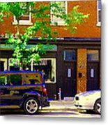 Joe Beef Liverpool House Notre Dame Little Burgundy Restaurant Montreal City Scene Carole Spandau Metal Print