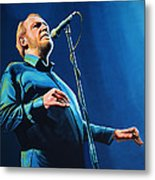 Joe Cocker Painting Metal Print