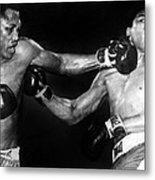 Joe Frazier Vs. Muhammad Ali Metal Print by Everett