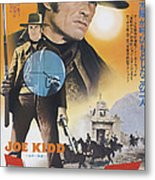 Joe Kidd, Clint Eastwood On Japanese Metal Print