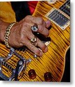 Joe Perry - Aerosmith Metal Print by Don Olea
