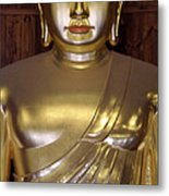 Jogyesa Buddha Metal Print by Jean Hall