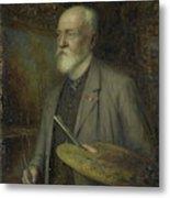 Johannes Gijsbert Vogel 1828-1915 Metal Print