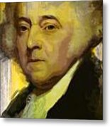 John Adams Metal Print by Corporate Art Task Force