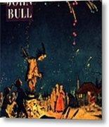 John Bull 1954 1950s  Uk Guy Fawkes Metal Print by The Advertising Archives