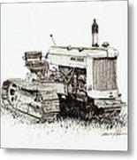 John Deere Crawler Metal Print