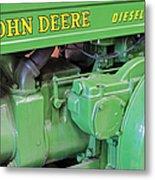 John Deere Diesel Metal Print by Susan Candelario