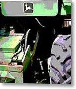 John Deere Green Metal Print