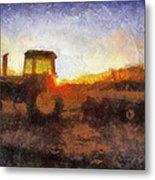 John Deere Photo Art 06 Metal Print
