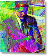 John Fitzgerald Kennedy Jfk In Abstract 20130610v2 Metal Print