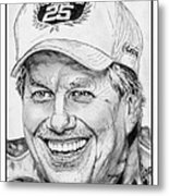 John Force In 2010 Metal Print by J McCombie