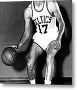 John Havlicek Of The Boston Celtics 1960s Metal Print