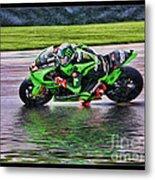 John Hopkins 2005 Motogp Red Bull Suzuki Metal Print