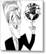 John Kerry Earth Day Metal Print