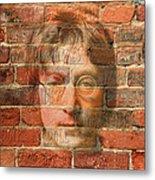 John Lennon 2 Metal Print by Andrew Fare