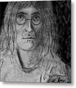 John Lennon Number 9 Metal Print