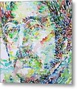 John Lennon Portrait.2 Metal Print