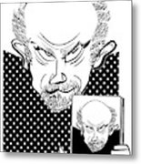 John Malkovich Metal Print by Tom Bachtell