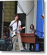 John Mayer And Robbie Mcintosh Taste Of Chicago Metal Print
