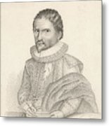 John Napier (1550-1617), 8th Laird Metal Print
