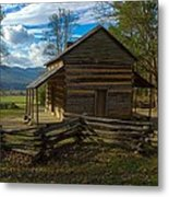 John Oliver Cabin Cades Cove Tn Metal Print by Paul Herrmann
