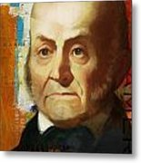 John Quincy Adams Metal Print