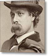 John Sidney Woollett (1845-1917) Metal Print