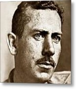 John Steinbeck American Author Circa 1938 Metal Print