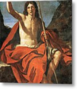 John The Baptist Metal Print