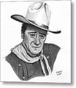 John Wayne #1 Metal Print