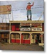 John Wayne Cowboy Museum Tombstone Arizona 2004 Metal Print
