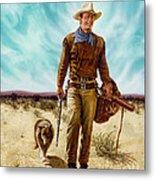 John Wayne Hondo Metal Print