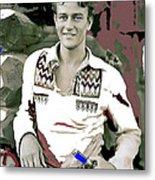 John Wayne In Buckskins The Big Trail 1930-2013 Metal Print