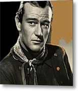 John Wayne Publicity Photo In Costume Stagecoach 1939-2013 Metal Print