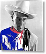 John Wayne Publicity Photo Overland Stage Raiders 1938 Metal Print