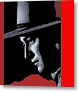 John Wayne Ringo Kid Portrait Stagecoach 1939-2013 Metal Print