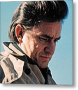 Johnny Cash  Music Homage Ballad Of Ira Hayes Old Tucson Arizona 1971 Metal Print